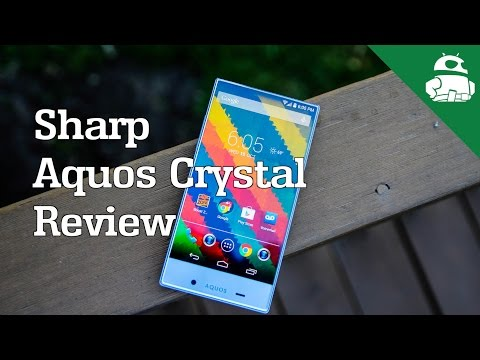 Sharp Aquos Crystal Review!