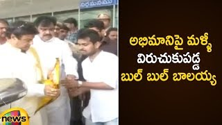 Balayya Angry on Fans At Gannavaram Airport | Balakrishna Real Behaviour Towards Fans | Mango News - MANGONEWS