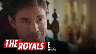 The Royals | King Robert Seems to Have Met His Match | E! - EENTERTAINMENT