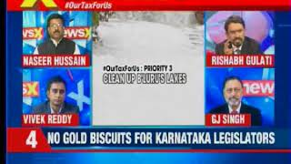 26 cr neta party budget slashed, 'no gold biscuits, only 10 cr', what's people's priority tonight? - NEWSXLIVE