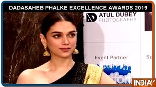 Dada Saheb Phalke Excllence Awards- Watch who walked the Red Carpet - INDIATV