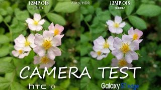 HTC 10 vs Samsung Galaxy S7 Edge - Camera Test Comparison Review!