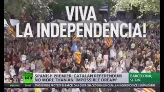 Catalan referendum no more than impossible dream - Spanish PM - RUSSIATODAY