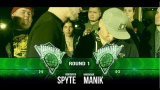 KOTD &#8211; Ground Zero Grand Prix R1 &#8211; Manik vs Spyte