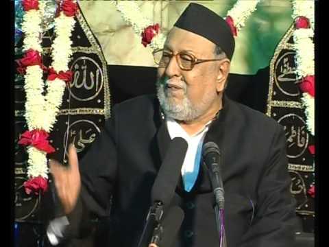 Maulana Mirza Mohammed Athar, Majlis 6, Mahe Moharram 2012/2013, Venue = Mogul Masjid (Mumbai)