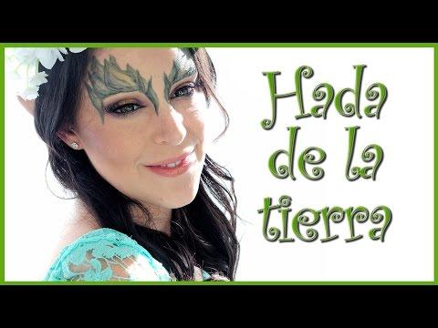 Tutorial maquillaje Hada de la Tierra con AnaArthur81 Fantasía #44  | Silvia Quiros