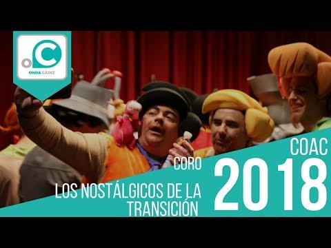 Sesión de Cuartos de final, la agrupación Los nostálgicos de la transición actúa hoy en la modalidad de Coros.