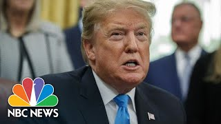 President Donald Trump On Sanders' 2020 Bid: 'He Missed His Time' - NBCNEWS