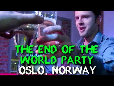 End of the World Party and Chris Guillebeau's 35th Birthday in Oslo, Norway