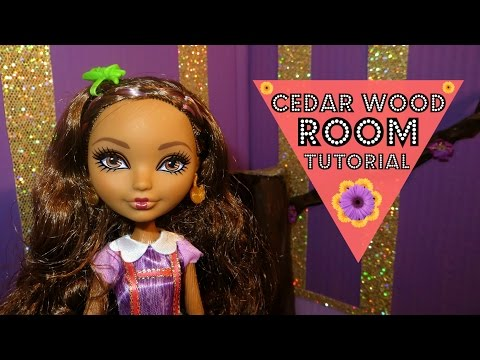 Cedar Wood Room Tutorial