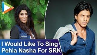 "Shashaa Tirupati: ""I Would Like To Sing Pehla Nasha For SRK"" | RAPID FIRE | Deepika | Ranveer - HUNGAMA"