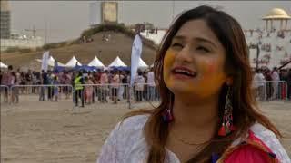 25 Mar, 2019 - Indian spring festival Holi celebrated in Dubai - ANIINDIAFILE