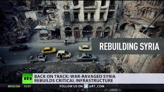 Aleppo: Still in ruins, but slowly getting back on track as Syria rebuilds cities - RUSSIATODAY