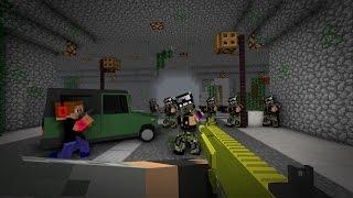 ВЫЖИТЬ В ЗОМБИ АПОКАЛИПСИСЕ #9 - УБИВАЕМ ВОЕННЫХ [Minecraft]