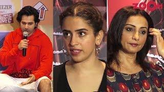 MeToo India: Varun Dhawan, Sanya Malhotra & Divya Dutta REACT to recent controversies - ZOOMDEKHO