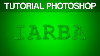 Tutoriale - Photoshop - Text din Iarba (Romana) | www.gric.ro