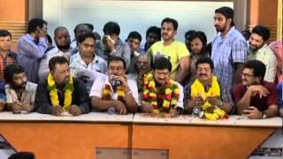 Rajendra Prasad Panel about MAA Election 2015 Press meet - TFPC