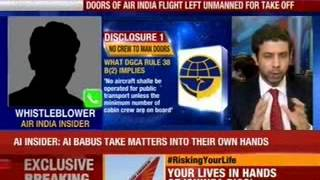 Doors of Air India flight left unmanned for take off - NEWSXLIVE