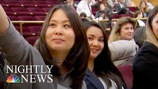 Hidden No More: State Department Program Empowering Women STEM Leaders | NBC Nightly News - NBCNEWS
