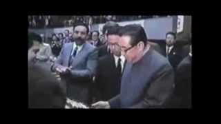 Kim Il Sung en Algérie (1975)