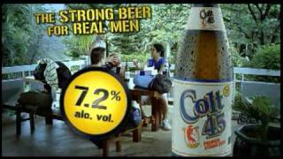 colt 45 beer commercial philippines