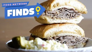 ORIGINAL French Dip Sandwich at Philippe | Food Network Finds - FOODNETWORKTV