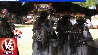 Tribal people celebrates Diwali festival 'Gussadi' for 15 days - Adilabad - V6NEWSTELUGU