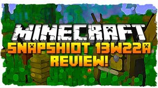 Minecraft: SNAPSHOT 13W22A! (VILLAGER SOUNDS, HORSE SOUNDS, AND MORE!)