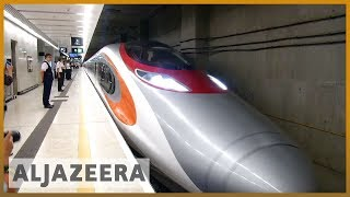 🇨🇳Hong Kong's new high speed rail link with China stirs controversy l Al Jazeera English - ALJAZEERAENGLISH