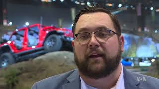 Amid Record Sales, SUV's Take Center Stage at Chicago Auto Show - VOAVIDEO