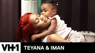 Baby Junie Helps Iman Pack 'Sneak Peek' | Teyana & Iman - VH1