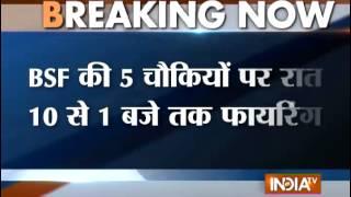 Pak violates ceasefire at RS Pura Sector, Jammu & Kashmir - INDIATV