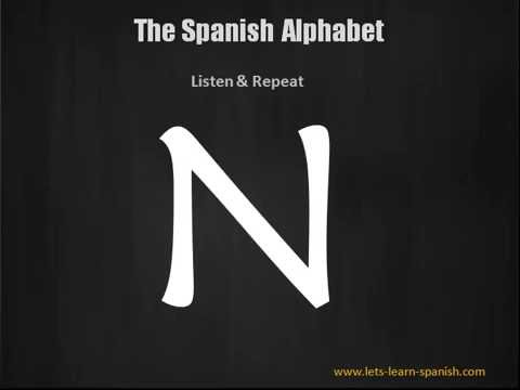 Alphabet In Spanish - Learn The Spanish Alphabet In 2 Minutes