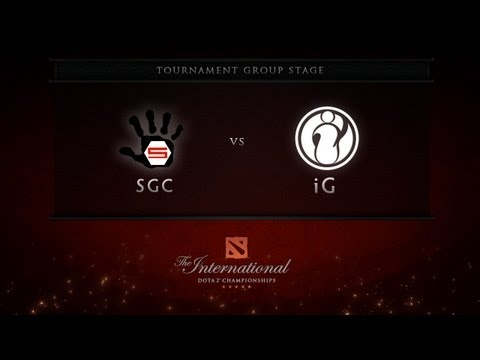 Dota 2 International - Group Stage - SGC vs iG
