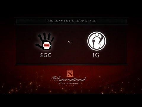 Dota 2 International - Group Stage - SGC vs iG