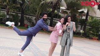 'Batti Gul Meter Chalu' Stars Shahid Kapoor, Shraddha Kapoor & Yami Gautam Spotted At Juhu - ZOOMDEKHO
