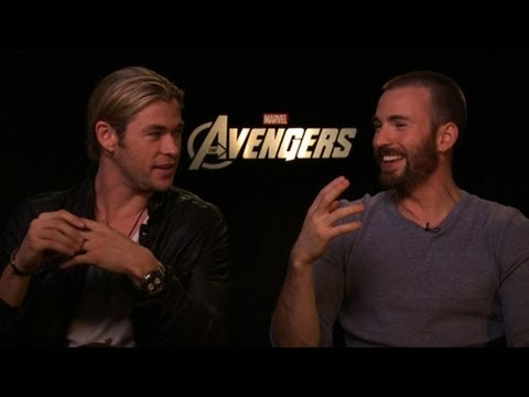 The Avengers Movie Cast Talks Vampires & Hunger Games