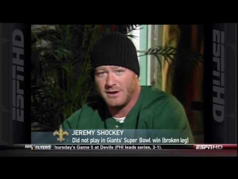 Jeremy Shockey Interview on Rome is burning.