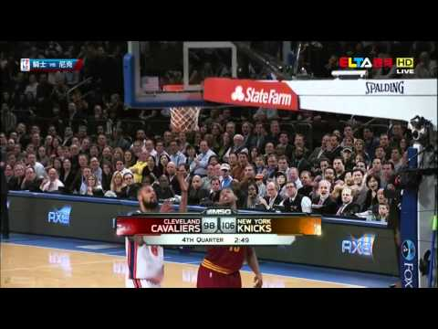 [HD] Jeremy Lin - Knicks vs Cavs - FULL and Complete Highlights 2.29.2012 [Taiwanese TV]
