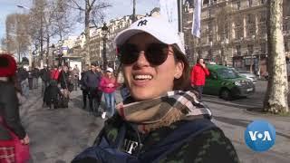Macron Under Renewed Pressure After Saturday's Vandalism in Paris - VOAVIDEO