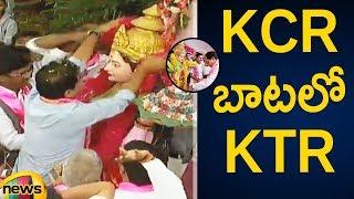 KTR Takes Charge As TRS Working President | Telangana Bhavan | TRS Party Latest Updates | Mango News - MANGONEWS