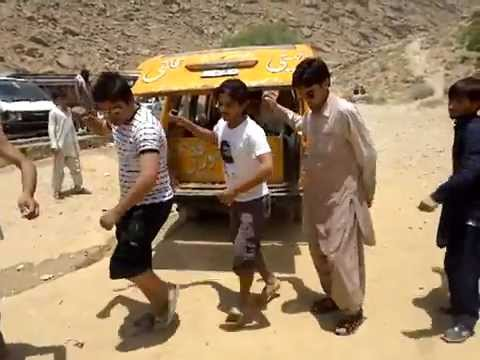 Balochistan agriculture college quetta students in Hanawarhak attan nk/ak and friends 2012