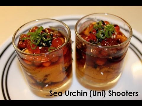Uni Sea Urchin Roe Shooters