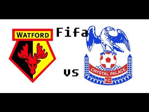 Real Fifa 13: Watford vs Crystal Palace
