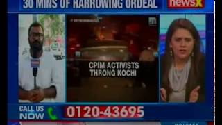 Kerala: Pregnant woman gets stuck for 30 min as CPI(M) activists causes traffic chaos in Kochi - NEWSXLIVE