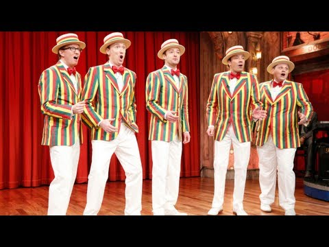 "The Ragtime Gals: ""SexyBack"" (w/ Jimmy Fallon & Justin Timberlake)"