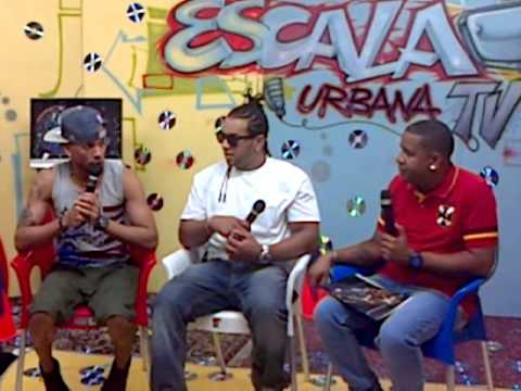 Jean P y Big Flow entrevista en Escala Urbana TV