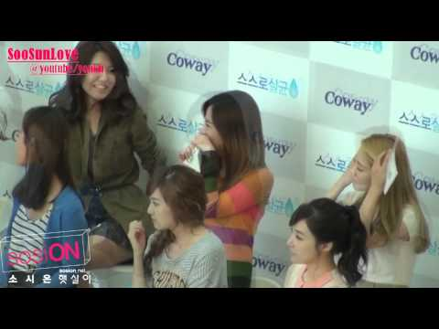 Snsd SooSun Moment #23 110927(Ver.2)Woongjin Coway Event -UDVI1kEzP-Q