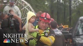 Florence Continues To Flood Carolinas With Rescues Underway | NBC Nightly News - NBCNEWS