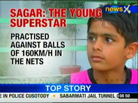 The little Sachin Tendulkar! - NewsX